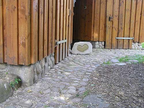 Das etwas andere Fundament - zum Beispiel für Ihr Gartenhaus.